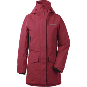 Didriksons 1913 Frida 3 Parka Dames, element red